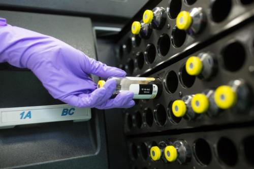 Kontrola mikrobiální kontaminace přístrojem BactAlert